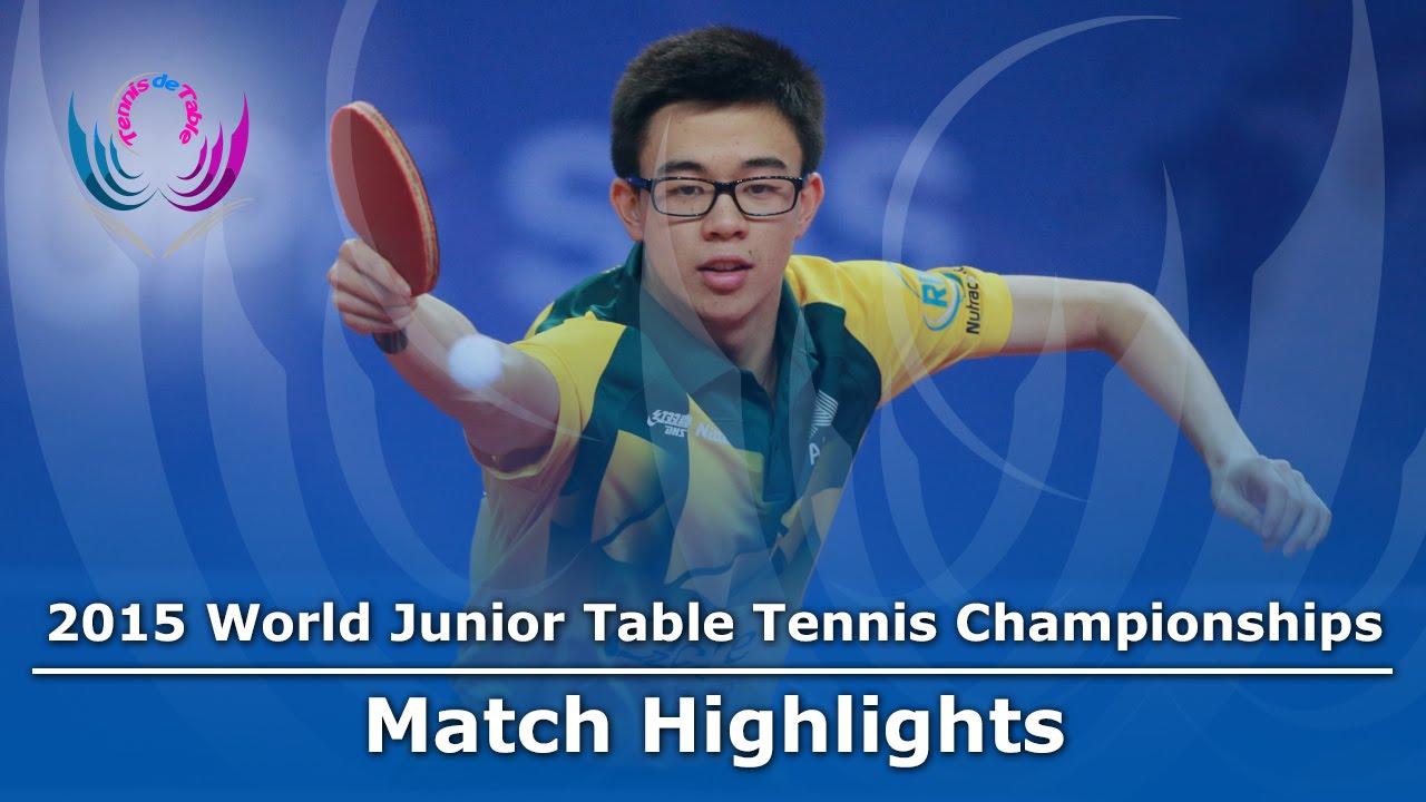 WJTTC 2015 Highlights: JHA Kanak vs HUANG Dominic (Group)