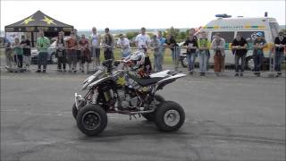 Car Wars Opening 2015 - Richard Mošna - Quad Stunt Show