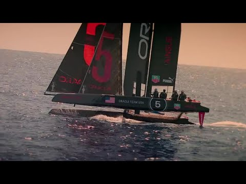 """Fastest car in the world"" vs Yacht - New Zealand Race - Top Gear - Series 20 - BBC"