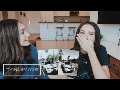 COPYING JESS CONTE'S INSTAGRAM PICTURES