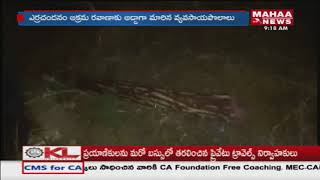 Red Sandalwood Smugglers Hulchul In Chittoor Dist
