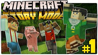 Minecraft Story Mode | WE ARE THE DEAD ENDERS! (Minecraft: Story Mode Episode 1) [1]