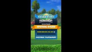 Golf Clash LIVE STREAM, Platinum Tournament Opening Round!