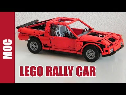 Lego All Wheel Drive Rally Car