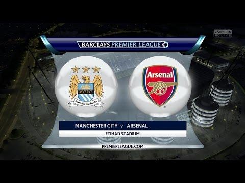 Manchester City vs Arsenal FC | 18.01.2015 | Barclays Premier League | FIFA 15
