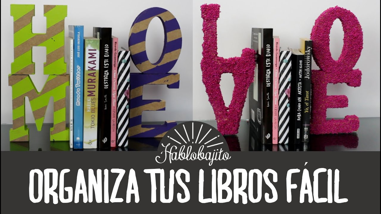 Ideas para decorar tu cuarto organiza tus libros for Ideas para decorar una habitacion biblioteca