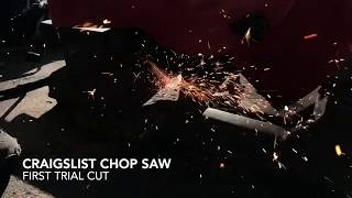 First Use of the Chop Saw