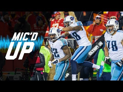 "Titans vs. Chiefs Mic'd Up During Epic Comeback ""We Got Grit!"" (AFC Wild Card) 