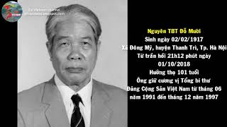Nguyên Tổng bí thư Đỗ Mười qua đời | Go Vietnam ✔