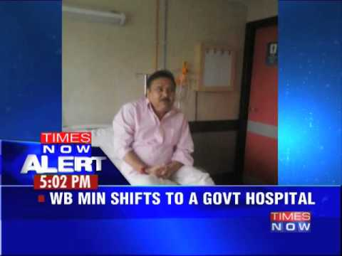West Bengal transport minister Madan Mitra admitted in hospital