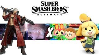 This Smash Bros Ultimate Leak is still not debunked. Dante in Smash Ultimate?