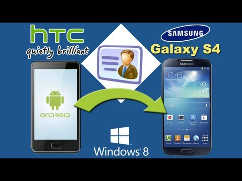 HTC to Galaxy S4 [Contacts Transfer]: How to Transfer Contacts from
