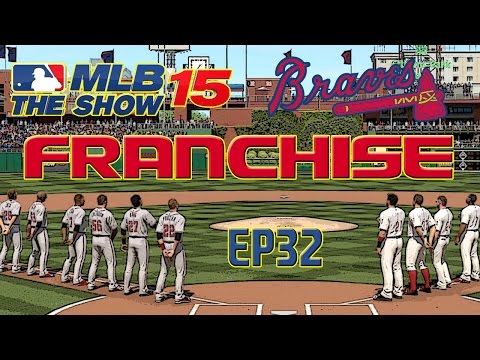 MLB 15 The Show: Atlanta Braves Franchise - A NEW ERA OF BRAVES BASEBALL [Y4G1 EP32]