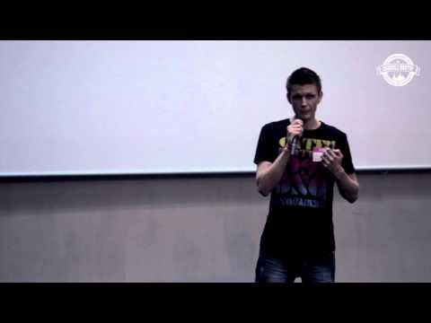 """Dribbble Meetup 2014: Александр Нохрин — Фриланс. Как работать с """"непростыми"""" клиентами"""