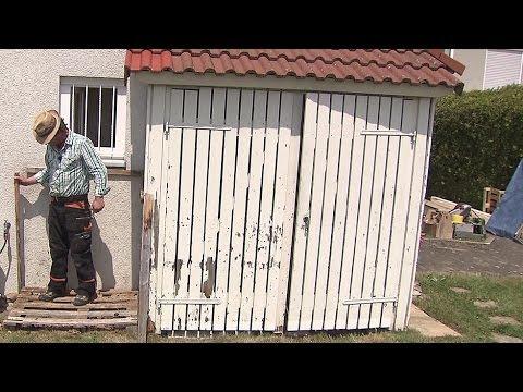 Geräteschuppen Renovieren: Wind- Und Wetterfest Soll Er Werden