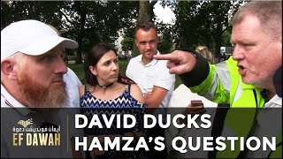 Video: You're a dirty Sinner. Prove your Allah loves me - Hamza Myatt vs David's Dad