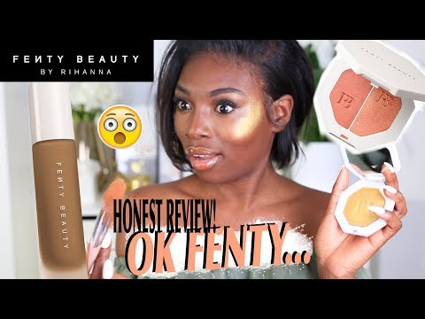 OK FENTY BEAUTY...YOU HAD TO GO THERE. REALLY? FIRST IMPRESSIONS!