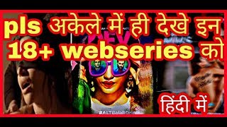 Top ten best hindi web series | india hindi best hindi original series