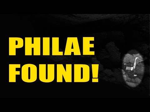 Philae is found! Rosetta Spacecraft finds its companion on Comet 67p