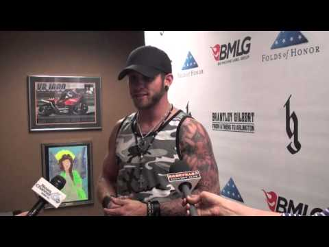 Brantley Gilbert on his Augusta Stop