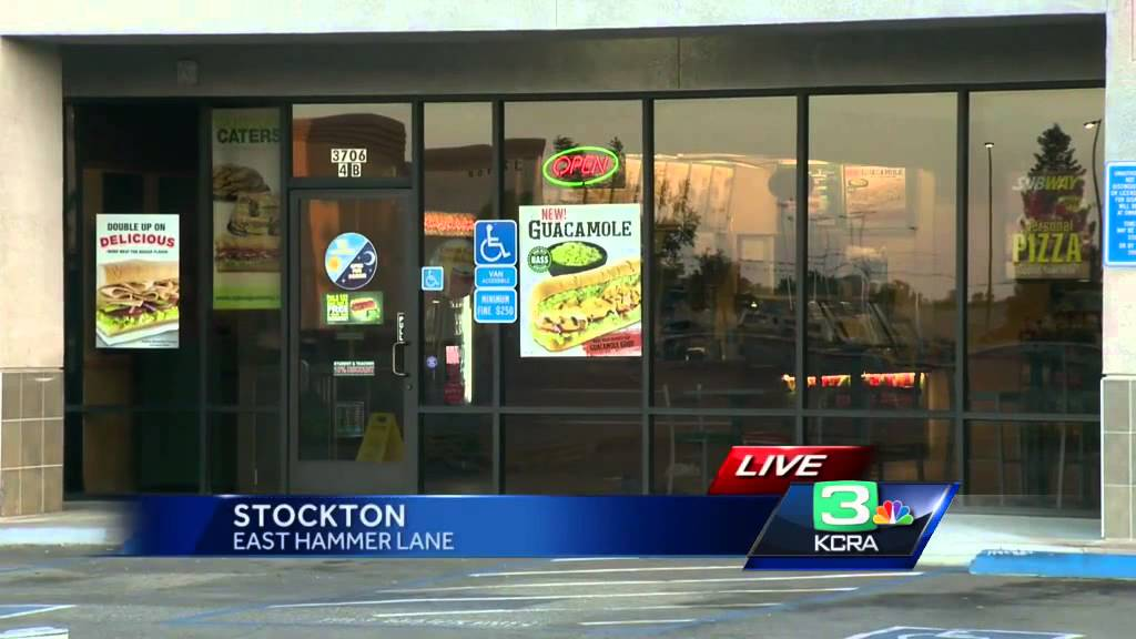 Subway restaurant worker dies in Stockton shooting