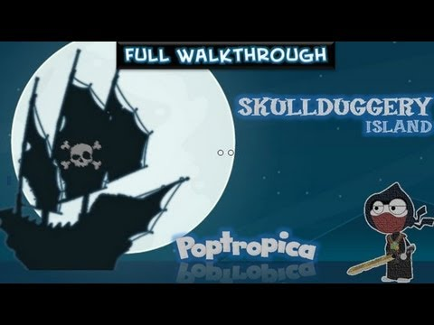 Poptropica Cheats For Skullduggery Island – Full Walkthrough