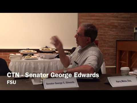 081814 State Senator George Edwards Marcellus Shale Meeting
