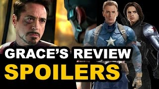 Captain America Civil War SPOILERS Movie Review