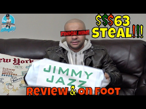 Only Paid $63 For This Sneaker!!! | Jimmy Jazz | Review & On Foot