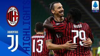 Milan 4-2 Juventus | Ronaldo Goal Not Enough as Milan Stun Serie A Leaders! | Serie A TIM