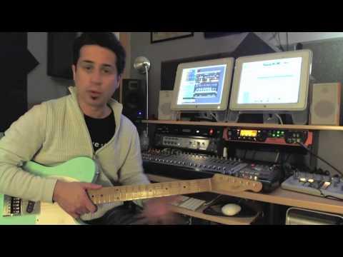 Blues Rhythms - #1 - Guitar Lesson - Corey Congilio