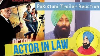 Indian Boy Reacts to Pakistani Movie Actor in Law - Reaction #68
