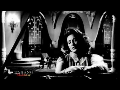 SURINDER KAUR - Umeedon par Udasi Chha gai ..A rare forgotten Hindi song.. Nargis ... Raj Kapoor