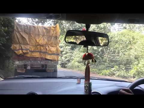 On the way to Goa - on the ghat roads