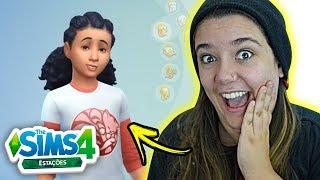 NOVO VISUAL PRA TODO MUNDO! - The Sims 4 Estações