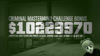 GTA V - Criminal Mastermind Challenge.