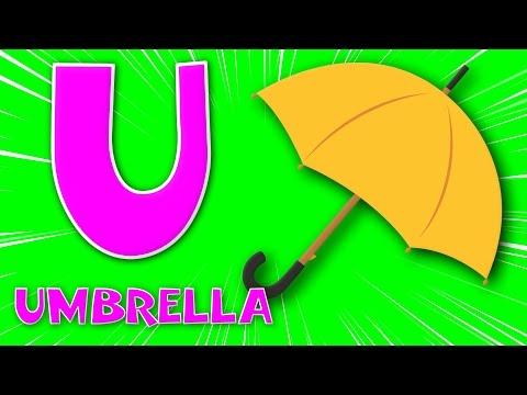the phonics letter U song | learn alphabet | ABC song | alphabets song | kids rhymes