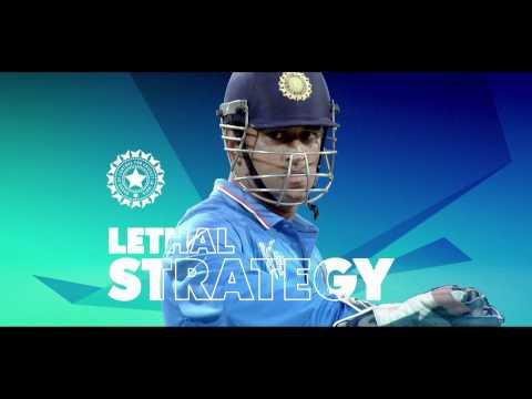 ICC Cricket World Cup Quarter Final INDvBAN - Dhoni