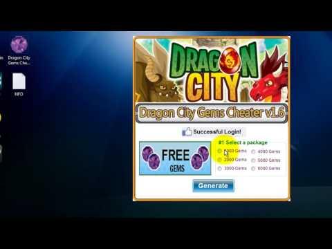 Dragon City Gems Cheater v1.6 (Free 6000 Gems in Dragon City)