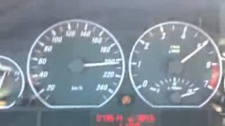 BMW 330ci E46 Hız Denemesi