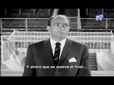 Homenaje del Real Madrid a Alfredo di Stéfano
