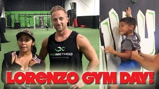 LORENZO ROCK CLIMBING AND OBSTACLE COURSES WITH FRIENDS | SNOOKI