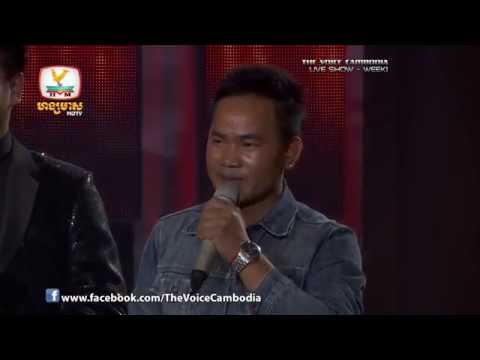 The Voice Cambodia - Live Show 1 - Mean Het Phorl Avey Klas Oy Oun Saob Bong - Chheav Leurn