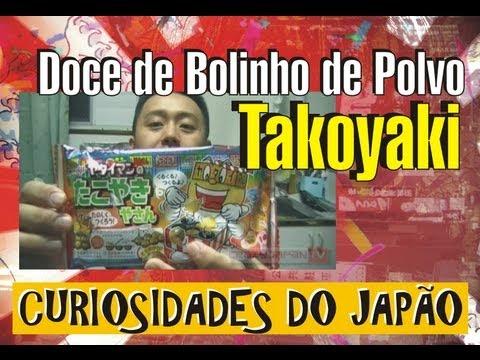 Culinária Japonesa para Crianças: Doce de Bolinho de Polvo - ヤタイマンのたこやき