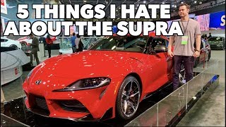 5 Things I HATE About The 2020 Toyota Supra