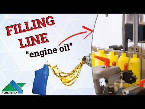 Albertina - Filling line for cleaners