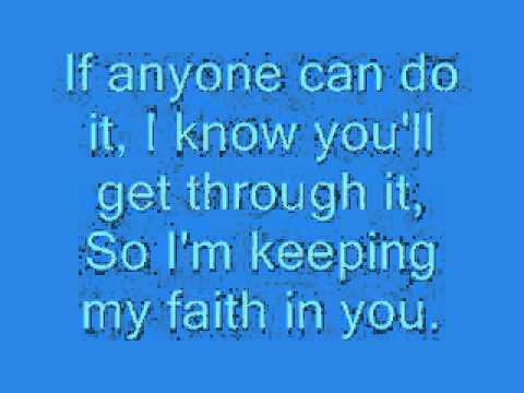 Luther Vandross - Keeping my Faith in You