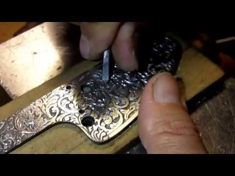 Как сделать гравировку на металле в домашних условиях видео