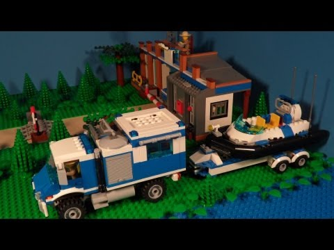Lego 4205 Review Off-road Command Center City
