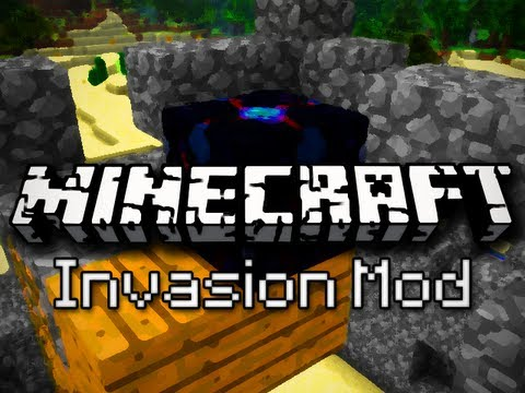 Minecraft Mods: Tower Defense! (Invasion Mod Demonstration)
